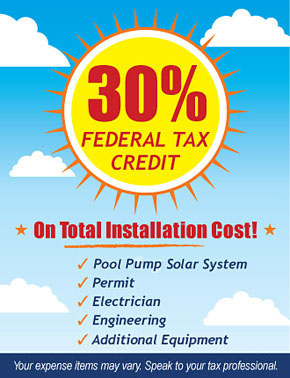 SunRay Fed Tax Credit Infomation
