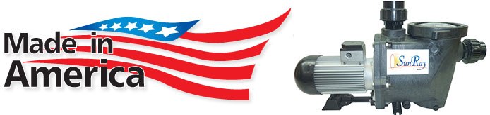 SunRay Solar Pool Pump are Made in America